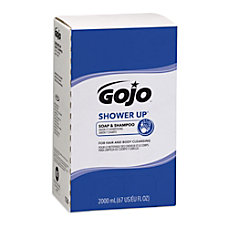 GOJO SHOWER UP Soap Shampoo 2000