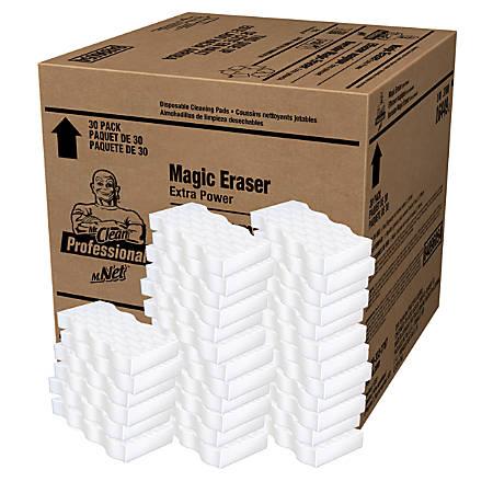 Mr. Clean Magic Eraser Extra Durable Pads, Blue/White, Carton 30ct
