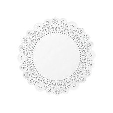 Hoffmaster Cambridge Lace Paper Doilies Round