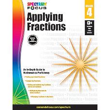 Spectrum Applying Fractions Workbook Grade 4