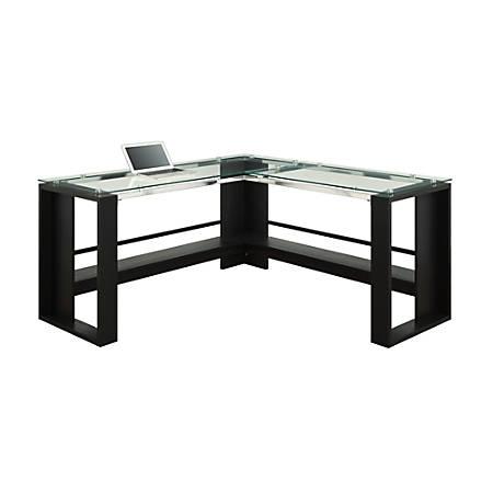 Whalen Jasper L-Desk, Espresso