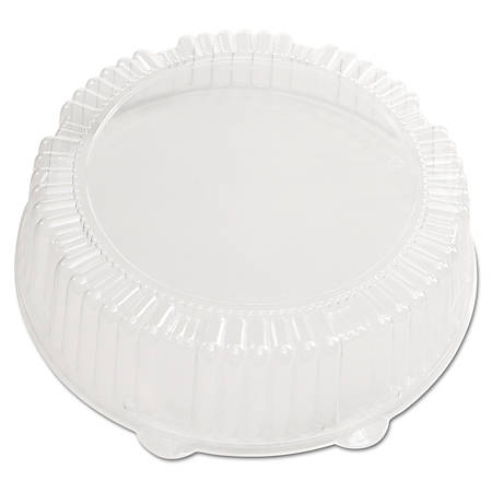 """WNA CaterLine® Dome Lids, 2 3/4""""H x 12""""W x 12""""D, Clear, Pack Of 25 Lids"""