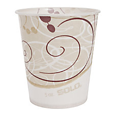 Solo Waxed Paper Water Cups 5