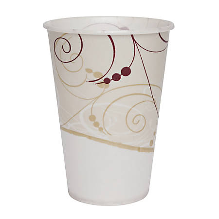Solo Waxed Paper Cups - 7 fl oz - 2000 / Carton - Beige - Paper - Milk Shake, Smoothie