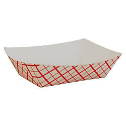 SCT Checkerboard Paper Food Baskets 05