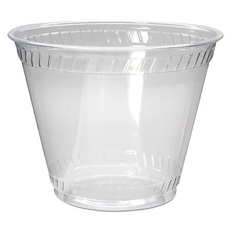 Fabri-Kal® Greenware® Old Fashioned Cold Drink Cups, 9 Oz, Clear, Carton Of 1,000 Cups
