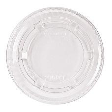 Dart Portion Cup Lids Plastic Clear