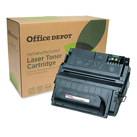 Office Depot® Brand 38A (HP 38A) Remanufactured Black Toner Cartridge