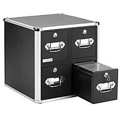 Vaultz 4 Drawer CD Cabinet 15