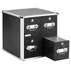 Vaultz 4 Drawer CD Cabinet 15