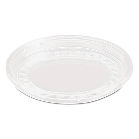 Dart® Bare™ Eco-Forward™ RPET Deli Container Lids, For 8 Oz Containers, Clear, 50 Lids Per Pack, Carton Of 10 Packs