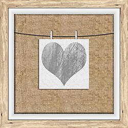 PTM Images Photo Frame Heart Watercolor