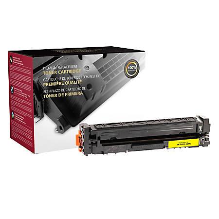 Clover Imaging Group 200921P (HP 201X / CF402X) High-Yield Remanufactured Yellow Toner Cartridge