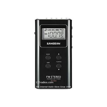 Sangean DT-180 Pocket Digital Radio Tuner