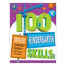 Thinking Kids 100 Skills Grade K