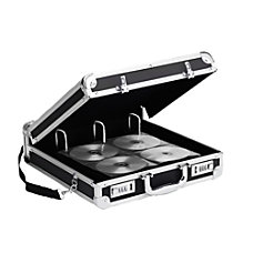Vaultz Locking CDDVD Binder Case 200