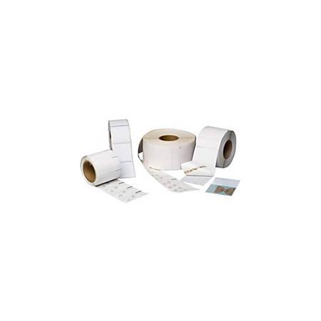 Printronix Premium Coated Paper with Permanent Acrylic Adhesive
