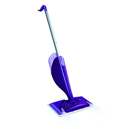 Swiffer Wetjet Starter Kit Purplesilver Office Depot