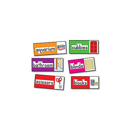 Carson-Dellosa 4 Blocks Bulletin Board — Print Rich Classroom Labels