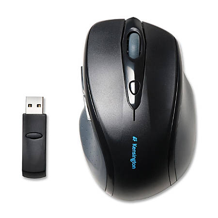 Kensington® Pro Fit™ Full-Size Wireless Mouse, Black