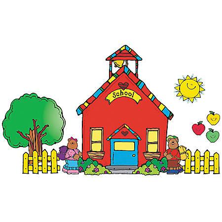 Carson-Dellosa D.J. Inkers Bulletin Board Set — Schoolhouse