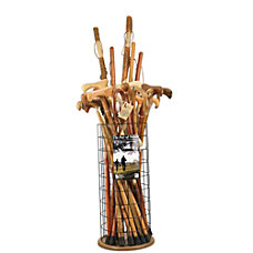 Brazos Walking Sticks Medical Package Wood
