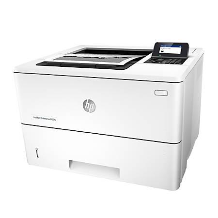 HP LaserJet Enterprise Monochrome Laser Printer, M506N