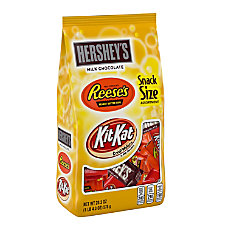 Hersheys Snack Size Assortment 203 Oz