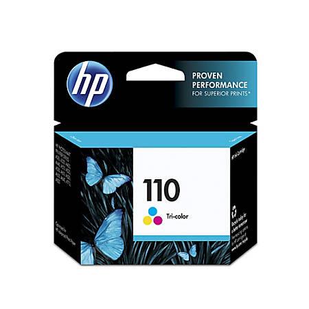 HP 110, Tricolor Original Ink Cartridge (CB304AN)