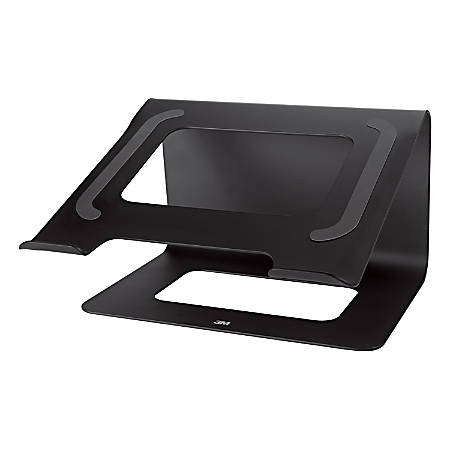 """3M™ Laptop Stand, 6.25""""H x 10.2""""W x 10.4""""D, Black, LS85B"""