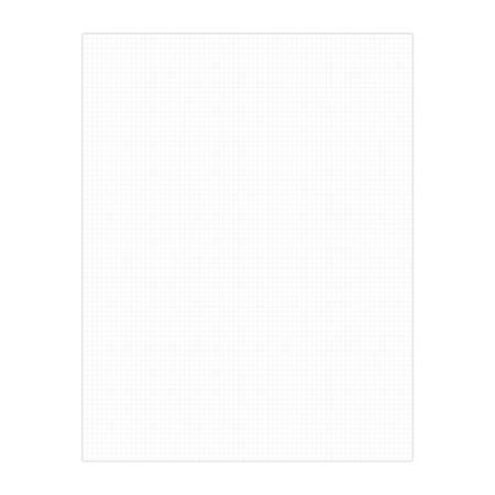 "Office Depot® Brand Vanishing Grid Presentation Tri-Fold Foam Board, 22"" x 28"", White"