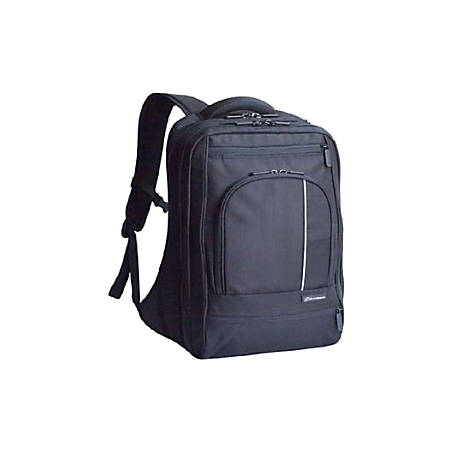 "Brenthaven ProStyle BP-XF 2095 Notebook Backpack - 11.25"" x 16.75"" x 1.5"" - Black"
