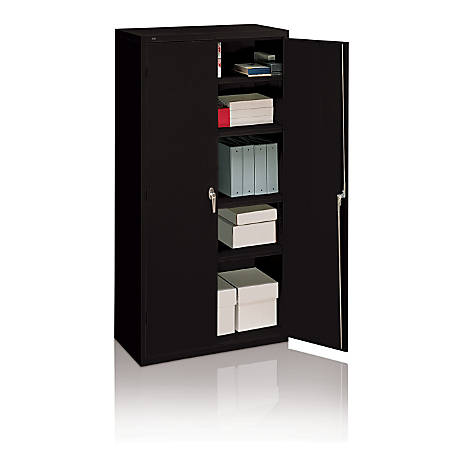Brilliant Hon Steel Storage Cabinet 3 Shelves Charcoal Item 166451 Best Image Libraries Sapebelowcountryjoecom
