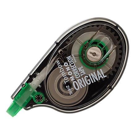 """Tombow® Mono® Single Line Disposable Correction Tape, 394"""", White"""