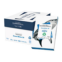 Hammermill Great White Copy Paper Legal