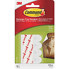 Command Removable Adhesive Poster Strips 1