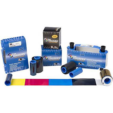 Zebra Black Overlay Ribbon - Dye Sublimation, Thermal Transfer - 500 Impression - Black