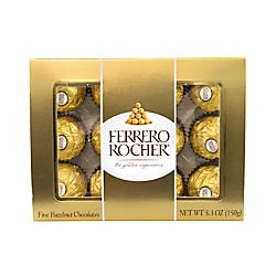 Ferrero Rocher Roasted Hazelnut Chocolates 12