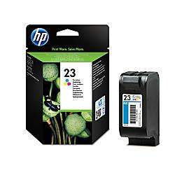 HP 23 Tricolor Original Ink Cartridge