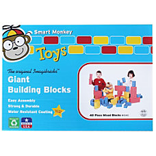 Smart Monkey ImagiBRICKS Giant 40 Piece