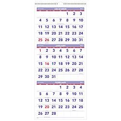 at a glance 3 month wall calendar 12 x 27