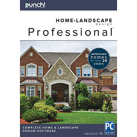 Punch professional v19 for pc download version by office Punch home and landscape design professional