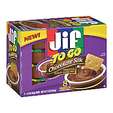 Jif To Go Chocolate Silk Peanut