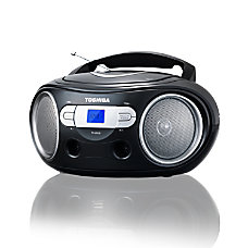 Toshiba Portable CDMP3 Boombox With AMFM
