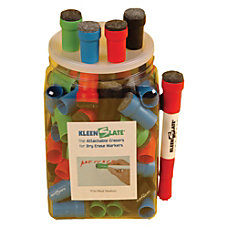 KleenSlate 50percent Recycled Eraser Caps For