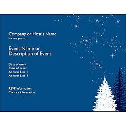 Custom Business Invitations 5 12 x