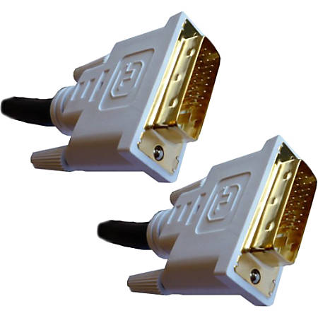 Professional Cable DVI (Digital Visual Interface) Link Male to Male - 3 Meters