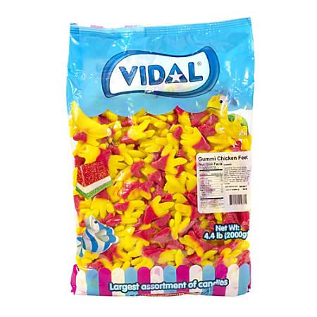 Vidal Gummy Chicken Feet, 4.4-Lb Bag