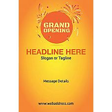 Custom Poster Grand Opening Vertical