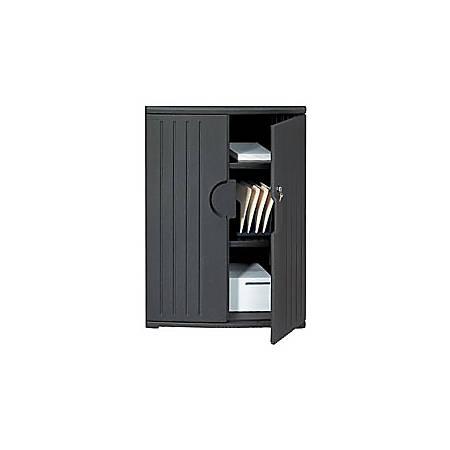 "Iceberg OfficeWorks™ Storage Cabinet, 46""H x 36""W, Black"